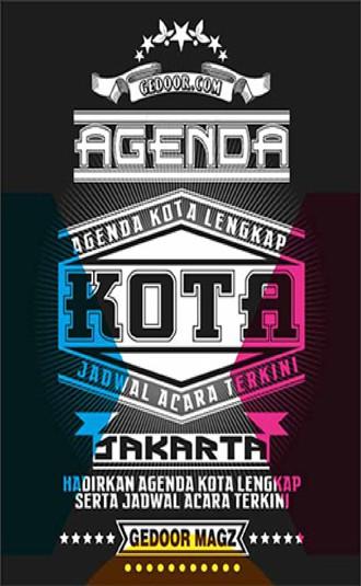 agenda kota jakarta gedoor.com