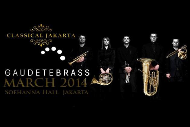 Classical Jakarta - The Gaudete Brass Quintet 2014