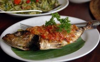 Ikan bakar menado