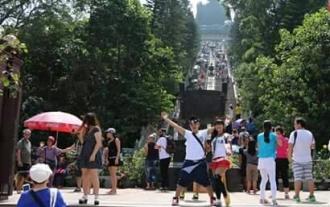 Wisata at Lantau Island (Big Budha) Ngong Ping, Hong Kong