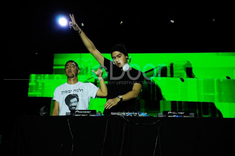 Aksi DJ Al Di Panggung Streetwear 2014