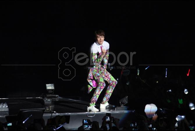 Total dalam konsernya kali ini 2PM membawakan 26 lagu andalannya