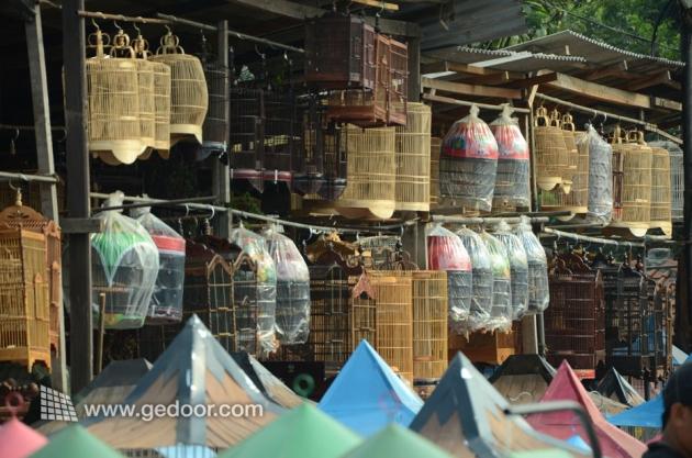 Aneka Sangkar Burung Dari Pasar Pramuka