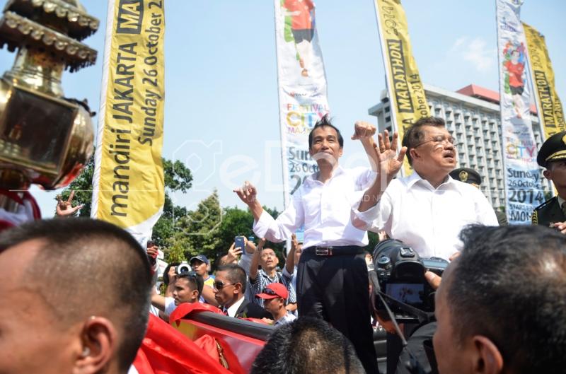 Jokowi-JK Resmi Jadi Presiden Dan Wakil Presiden Yang Ke 7