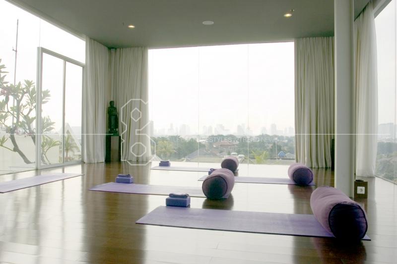 Rumah Yoga Tawarkan Konsep Yoga Tradisional