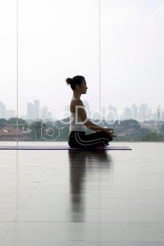Salah Satu Kegiatan Meditasi di Rumah Yoga