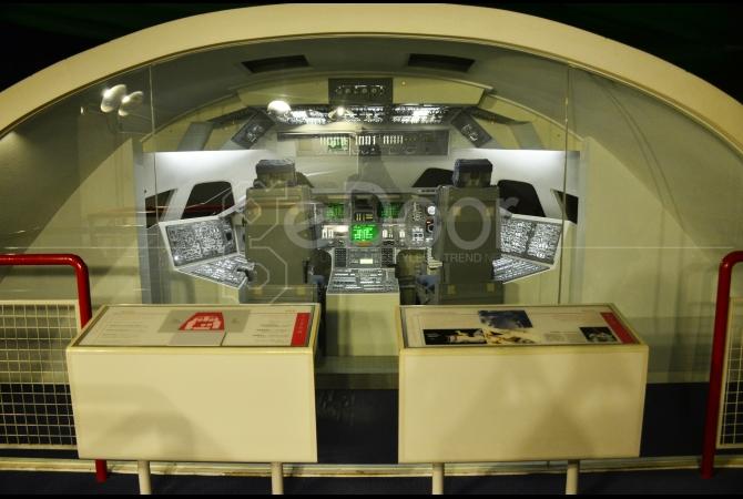 Dibeberapa bagian para pengunjung bisa merasakan sensasi simulasi ruang angkasa