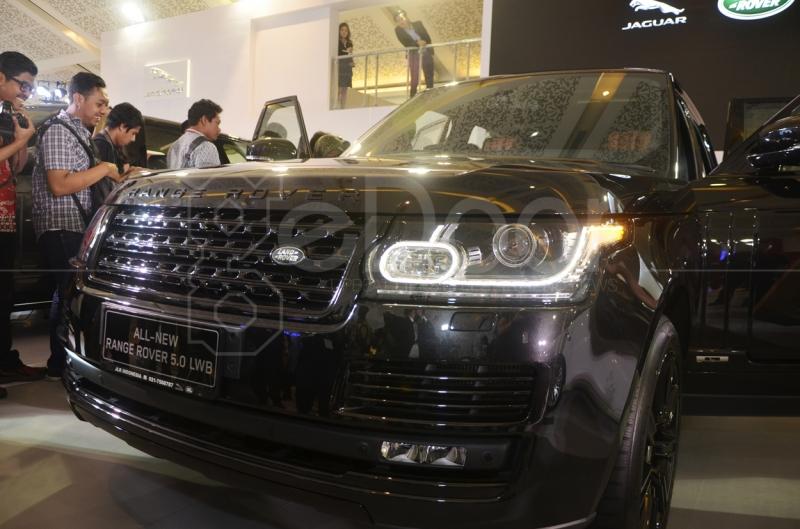 New SUV Terbaru Dari Land Rover Di IIMS 2014