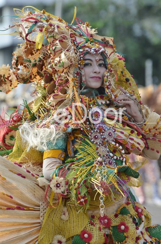 Karnaval Keajaiban Topeng Nusantara Di Monas