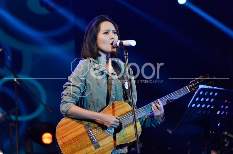 Musisi Wanita Indonesia Lala Karmela Unjuk Kebolehan Di JBF 2014