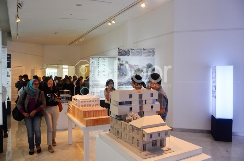 Pameran Arsitektur Ini Diselenggarakan Mulai 9 Desember 2014 Hingga 9 Januari 2015