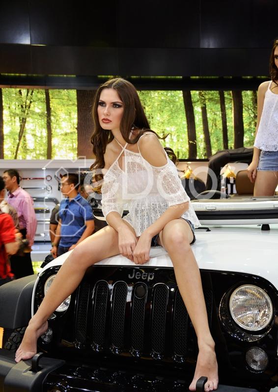 Jeep Wrangler Willy's Terbaru Di IIMS 2014