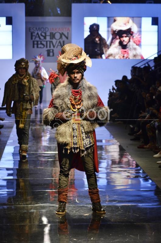 Fashion Show Carnival Jember di Jakarta 2014
