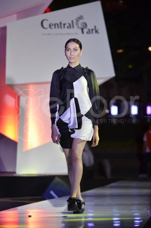 Central Park Mall Fashion Show 2014