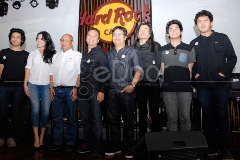 Suasana Press Conference Konser SATU Indonesia