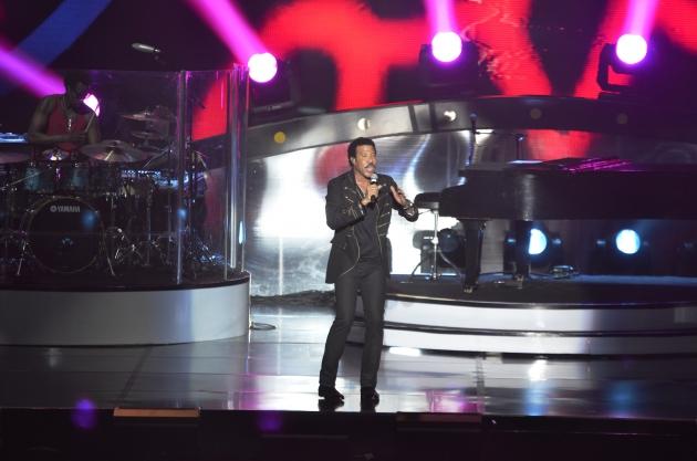 Konser Lionel Richie di Jakarta 2014