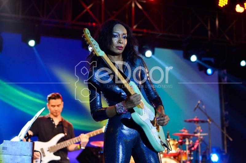 Jakarta Blues Festival 2014 Diramaikan Oleh Si 'Female Jimi Hendrix', Malina Moye Musisi Blues Asal Amerika