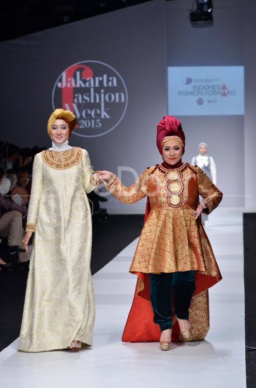 JFW 2015 Juga Diramaikan Oleh 18 Desainer Moslem Wear