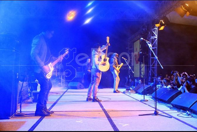 Event ini di konsep dalam bentuk musik indie yang ditampilkan dalam festival musik
