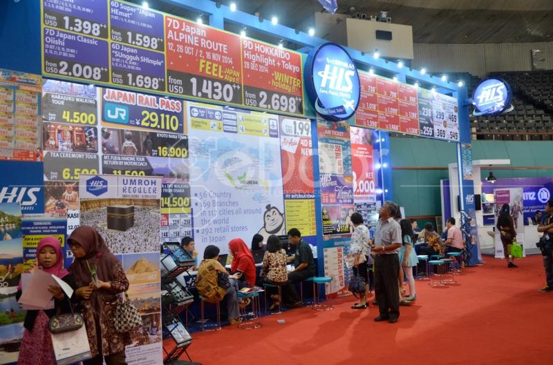Agen Wisata Berlomba Tawarkan Promo Menarik Di Kompas Travel Fair 2014