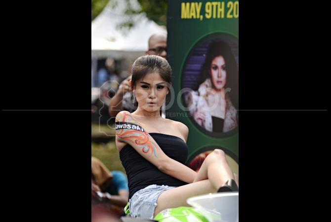 Kontes Photo yang di sponsori oleh perusahaan otomotif selalu rutin digelar di Tumplek Blek