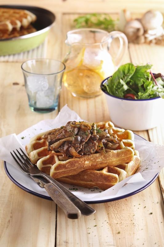Beef & Caramelized Onion Spesial Ala Pancious Pancake Kemang