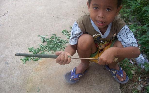 Papak Dor/Angsretan/Tembakan Bambu