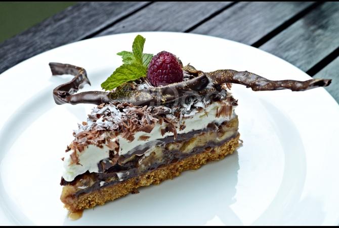 Banoffe Nutella menjadi makanan penutup yang pas saat berada di Portico