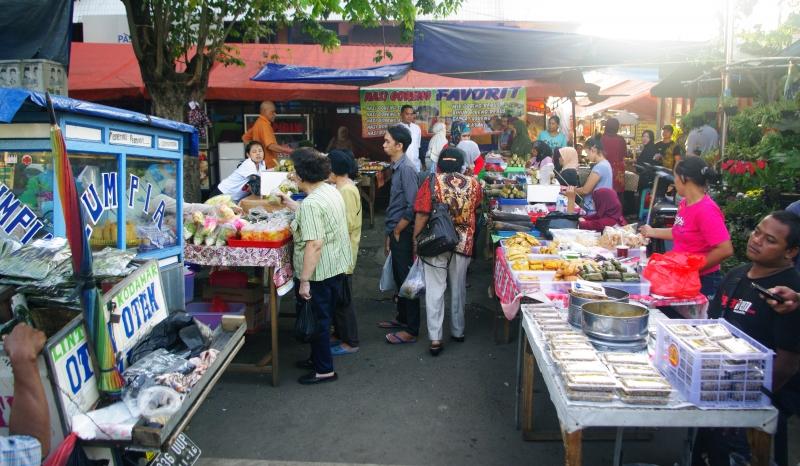 Takjil Dadakan Di Jakarta Timur
