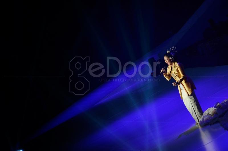 Krisdayanti Juga Salah Satu Musisi Wanita Yang Meramaikan Konser SATU Indonesia