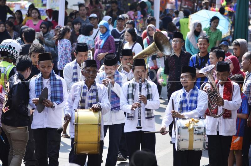 HUT DKI 2014 Di Kemang Jakarta Selatan