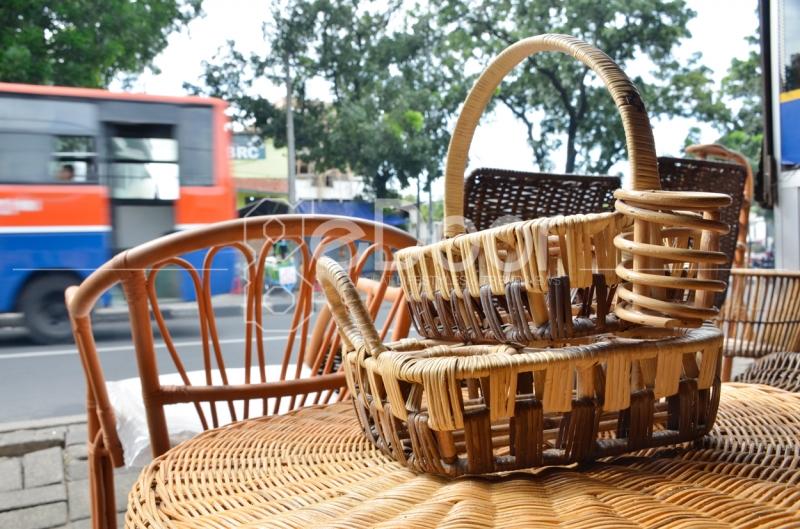 Keranjang Dari Rotan Yang Bisa Anda Beli Di Sentra Rotan Pasar Minggu