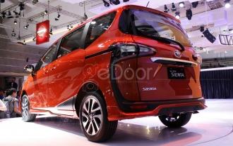 Sienta, Jagoan Terbaru Dari Toyota Meluncur Di IIMS 2016
