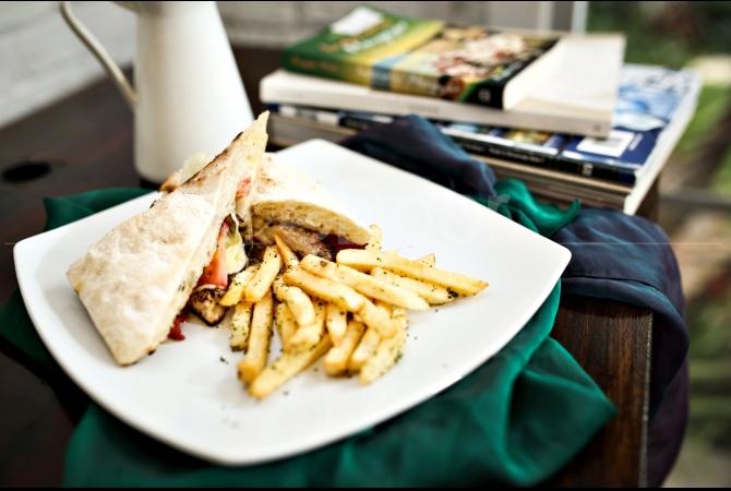 Piri-piri sandwich