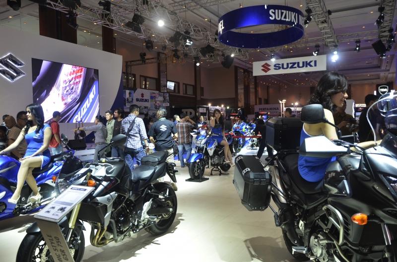 IMOS 2014 Menghadirkan Para Anggota AISI Yakni Honda, Suzuki, Kawasaki dan Yamaha