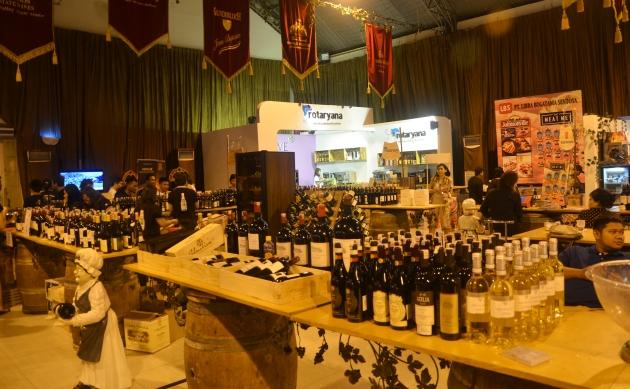 Pameran Wine International di Jakarta