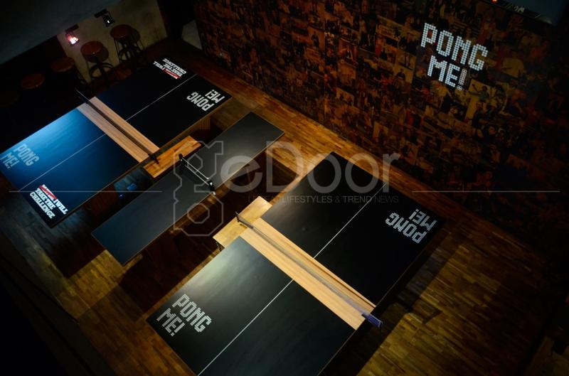 Pong Me! Diklaim Sebagai Resto Yang Menggabungkan Permainan Ping Pong Dengan Kuliner