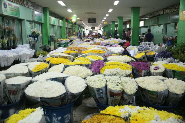 Pasar Kembang Rawa Belong