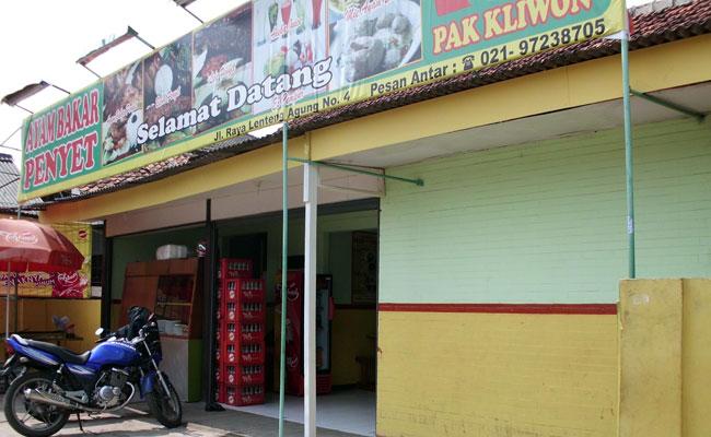 Pak Kliwon's Barbecued Chicken