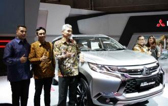 Mitsubishi All New Pajero Sport Hadir Pertama Kali Di IIMS 2016