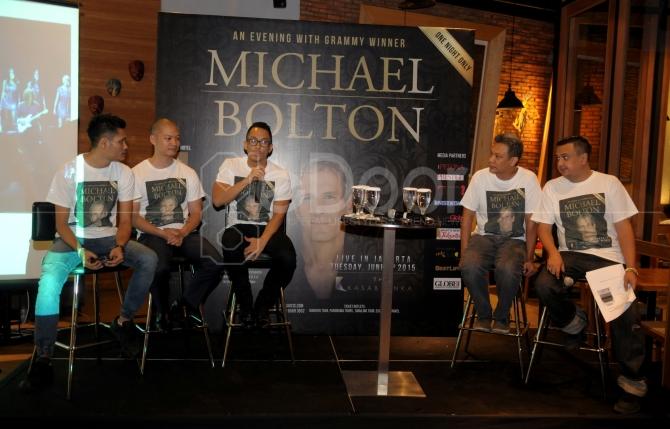 'An Evening With Grammy Winner' Jadi Tajuk Konser Michael Bolton Live In Jakarta 2015