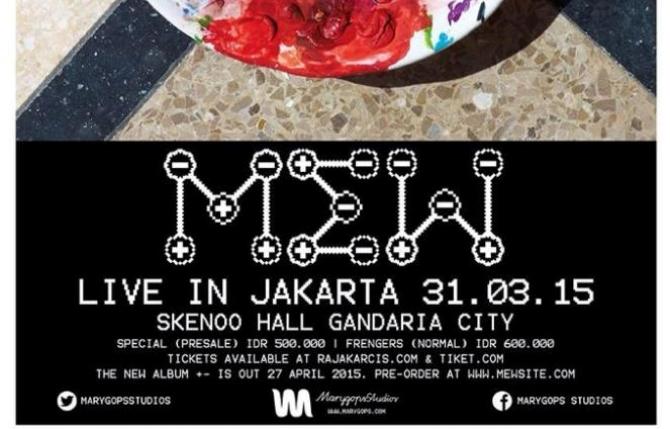 Mew Live In Jakarta 2015