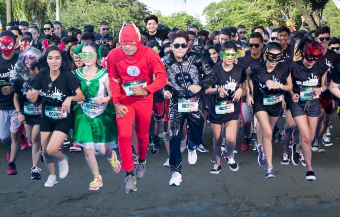 Weekend Fun Run Seru Splash Run Siap Digelar Di Ancol