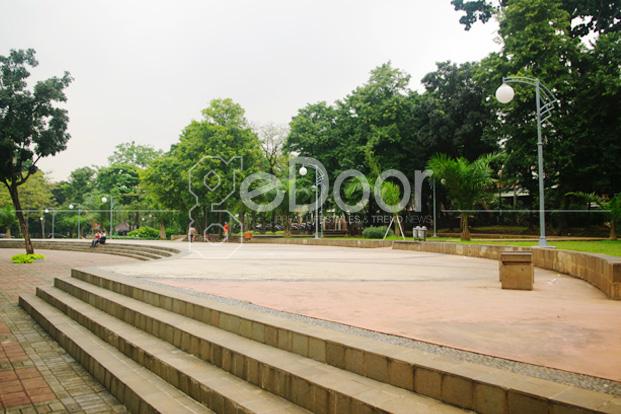 Hijau serta Bersihnya Taman Tebet Honda, Jakarta