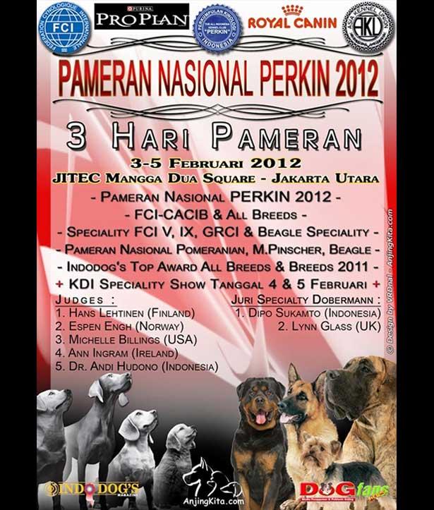 Perkin Jaya Dog Show 2012