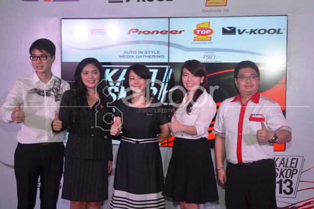 Auto In Style Caleidoscope 2013 Keberhasilan GT Radial, Pioneer, Top 1 Dan V-Kool Di Tahun 2013