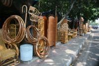 Perabotan rotan dari Jl. Pramuka