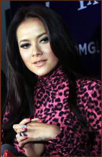 Trend baju motif leopard di Jakarta