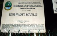Situs Batu Tulis Bogor