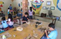 Membuat Keramik di Museum Layang-Layang